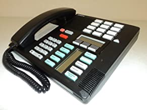 Nortel/Meridian M7310 PBX Black 4-7 Line Telephone with Speaker (Norstar NT8B20) (Renewed)