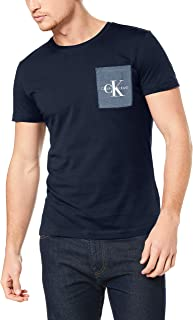 Calvin Klein Jeans Men's Monogram Pocket Slim Ss Tee