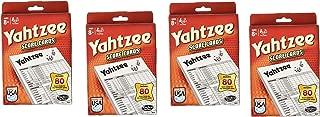 80-Sheet Yahtzee Score Cards - 4 Pack