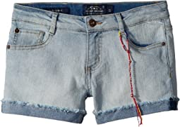 Riley Denim Shorts in Bella Wash (Big Kids)