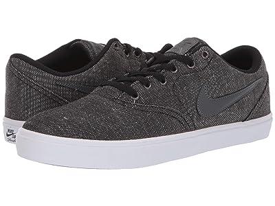 Nike SB Check Solar Canvas Premium (Black/Dark Grey/Black/White) Men