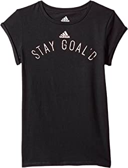 adidas Kids On A Roll Tee (Big Kids)