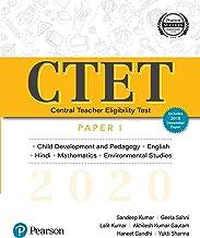 CTET 2020 Paper 1 by Pearson   Child Development & Pedagogy, English, Hindi, Mathematics & Environmental Studies
