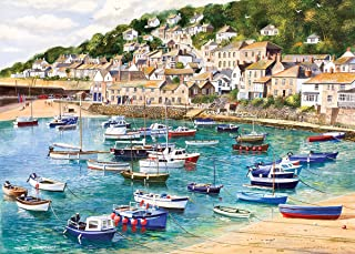 Mousehole 1000 Piece Jigsaw Puzzle   Sustainable Puzzle for Adults   Premium 100% Recycled Board   Great Gift for Adults  ...