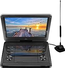 D12HBDT: 30 cm (12,5 Pouces) TV Portable et Lecteur DVD (HD Ready 1 366 x 768, Batterie..