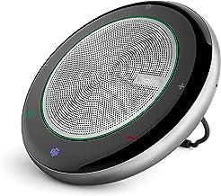 Altavoces inalámbricos con Bluetooth Yealink CP700 con micrófono Algoritmo de reducción de ruido mejorado, oficina en casa, recogida de voz de 360° certificada por Zoom Teams Voice Teams