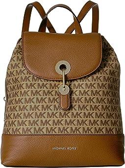 34e7b0c17 Michael michael kors junie medium flap backpack | Shipped Free at Zappos