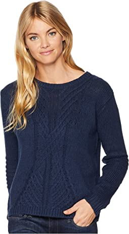 Glimpse Of Romance Crew Neck Sweater