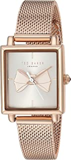 Ted Baker Women's Isabella Quartz Watch with Stainless-Steel Strap, Rose Gold, 13.1 (Model: TE50516004)