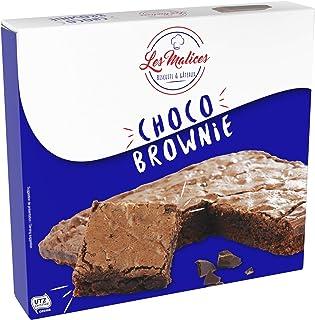Les Malices - Choco Brownie 8 pastelles x 285 gr tamaño de la familia - hecho en Francia