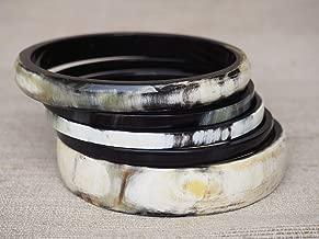 Natural Buffalo Horn Material Bracelet Set Jewelry