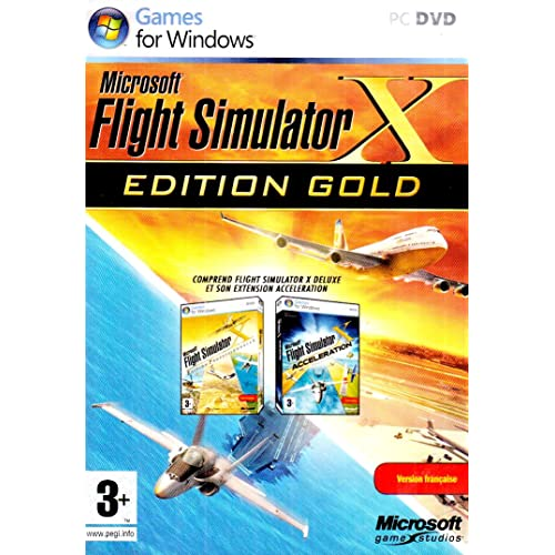 Flight Simulator X - édition gold