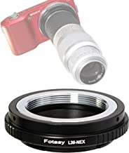 Fotasy Copper Adjustable Leica M39 Lens to Sony E-Mount Adapter, 39mm to E Mount, M39 Adapter to E-Mount, fit Sony NEX-5T NEX-6 NEX-7 a3000 a3500 a5000 a5100 a6000 a6100 a6300 a6400 a6400 a6500 a6600
