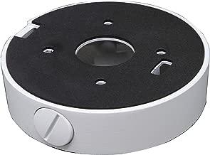 Amsecu White Junction Box/Mounting Base DS-1280ZJ-M for Hikvision Turret Camera DS-2CD23x2 DS-2CD2343G0-I (1 Pack)