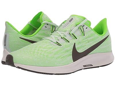Nike Air Zoom Pegasus 36 (Phantom/Ridge Rock/Electric Green) Men