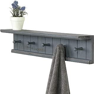Best grey shelf with hooks Reviews