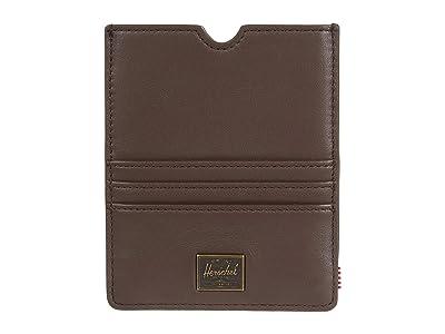Herschel Supply Co. Eugene Leather RFID (Brown) Wallet