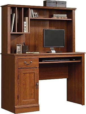 Amazon Com Sauder Orchard Hills Desk With Hutch Milled