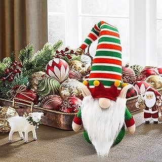 Christmas Gnome Elf Gnome Winter Holiday Plush Handmade Scandinavian Tomte Elf Dwarf Home Household Farmhouse Ornaments