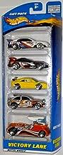 Hot Wheels 2001 Victory Lane 5 Car Gift Pack Holden, Callaway C-7, Ferrari F355 Challenge, Escort Rally, Semi-Fast