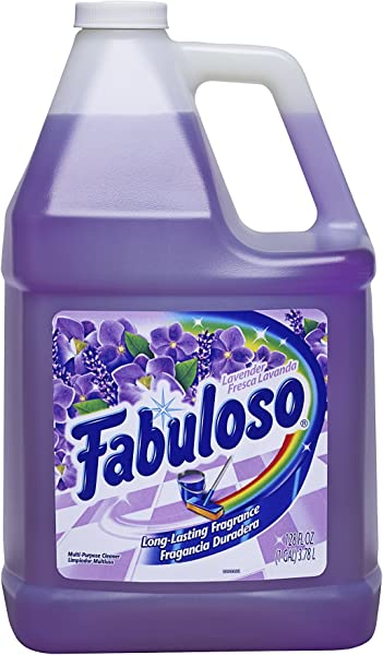 Fabuloso All Purpose Cleaner Lavender 128 Fluid Ounce