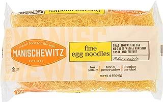 Manischewitz, Fine Noodles, 12 oz