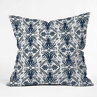 "Deny Designs Heather Dutton Mythos Oceanic Indoor Throw Pillow, 16"" x 16"""