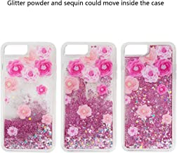 SumacLife Protective, Sparkling Waterfall Skin for Apple iPhone 7 or iPhone 8 - Pink Summer Rose