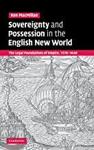 sovereignty و مالك في العالم: القانونية كريمات أساس جديد من Empire باللغة الإنجليزية ، 1576–1640
