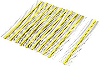 Gikfun 1 x 40 Pin 2.54mm Single Row Breakaway Male Pin Header for Arduino (Pack of 10pcs) EK1530A