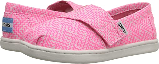 Neon Pink Printed Textile
