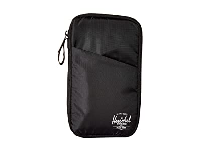 Herschel Supply Co. Travel Wallet (Black) Wallet Handbags