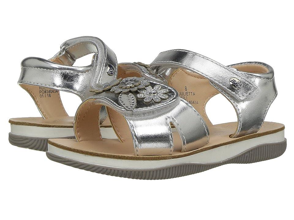 Naturino Express Julietta (Toddler/Little Kid) (Silver) Girls Shoes