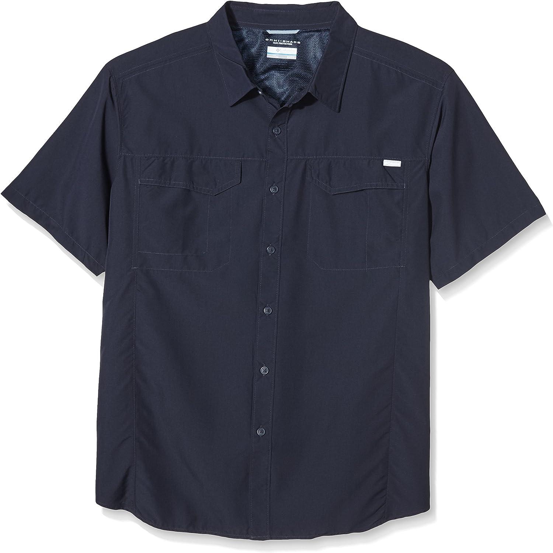 Columbia Sportswear Max 69% OFF Men's Silver Sleeve Short Ridge Some reservation Shirt