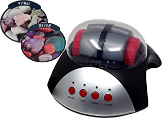 Rock Tumbler Gemstones Polisher with Jewelry Making Kit Rocks and Accessories