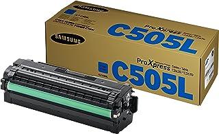 Samsung CLT C505L/ELS Original Toner (Kompatibel mit: SL C2620DW/C2670FW/C2680FX) cyan