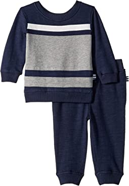 Color Block Swearshirt Set (Infant)