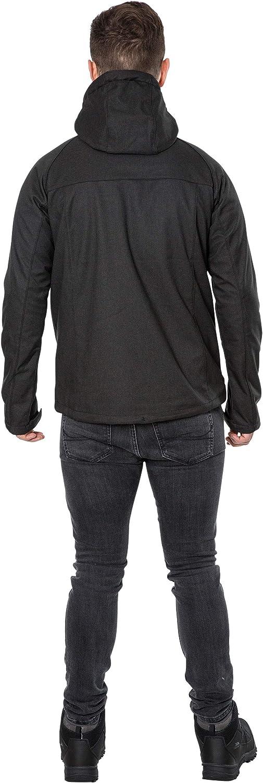 Hombre Trespass Desmond Chaqueta impermeable con capucha extra/íble