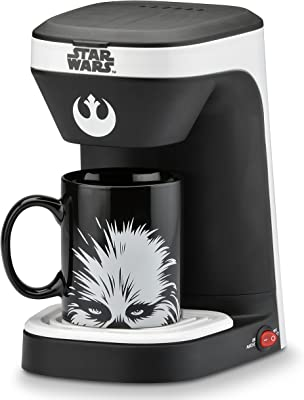 Star Wars 1-Cup Coffee Maker with Chewbacca Mug
