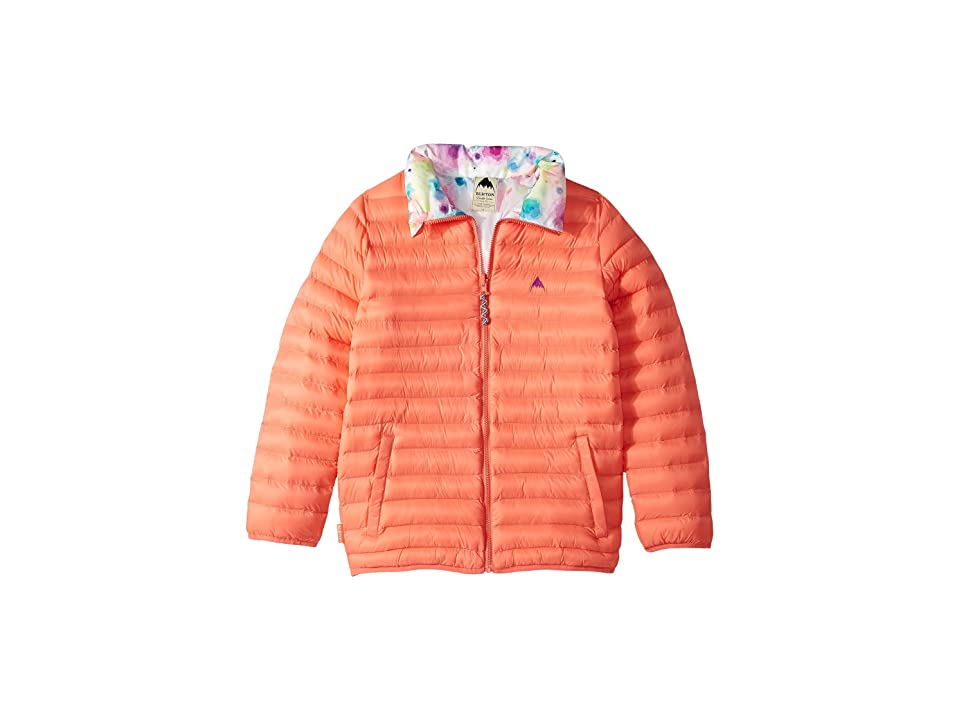 Burton Kids Flex Puffy Jacket (Little Kids/Big Kids) (Georgia Peach/Dip-Dye) Girl