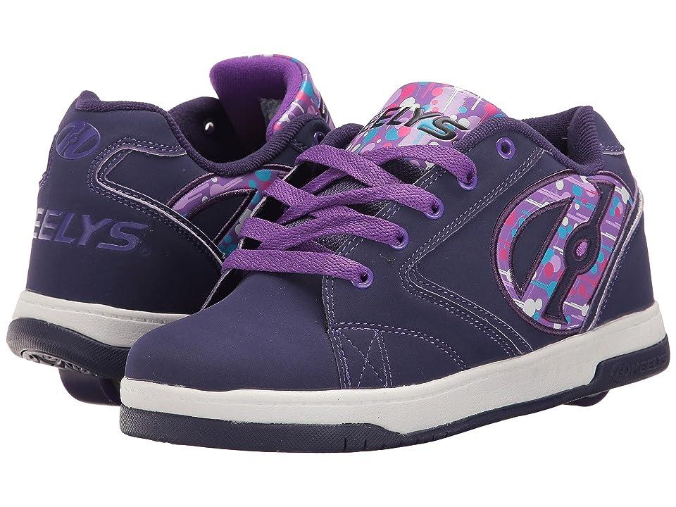 Heelys Propel 2.0 (Little Kid/Big Kid/Adult) (Purple/Drip) Kids Shoes