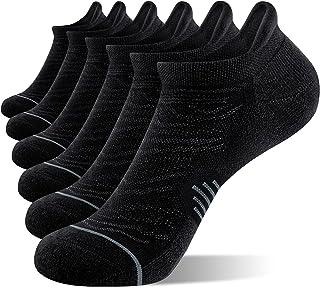 جوراب دویدن مچ پا Fitrell 6 Pack ، جوراب های ورزشی کم برش با زبانه