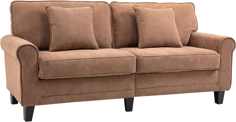 Sacramento Mall HOMCOM Selling Modern 3-Seater Sofa 78