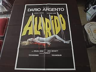 Original Peruvian Movie Poster Suspiria Alarido Dario Argento 1977