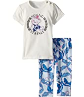 Two-Piece Set with Bear Logo Graphic (Infant)
