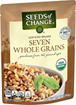 Seeds of Change Organic Seven Whole Grains, Ready to Heat 8.5 Ounce, Pack of 6
