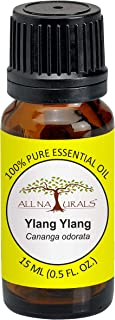 All Naturals 100% Pure Ylang Ylang Essential Oil (Madagascar) - 15ML For Hair, Skin & Aroma