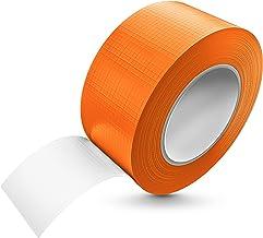 Tape-King Pantsertape, 50 m x 48 mm, oranje, waterdicht met extreme kleefkracht, corrigeerbare pantserband, handscheurbaa...