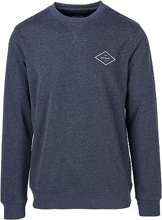 Rip Curl Essential Surfers Crew Sweatshirt in Night Sky Marle