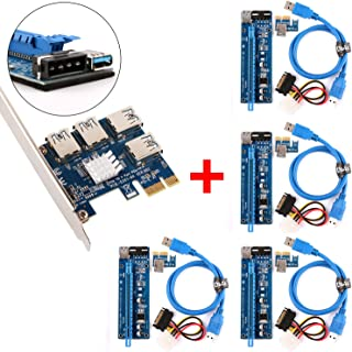 2 Port USB 3.0 PCI-E Expansion Card 19pin Header 4pin IDE Power Connector  EC